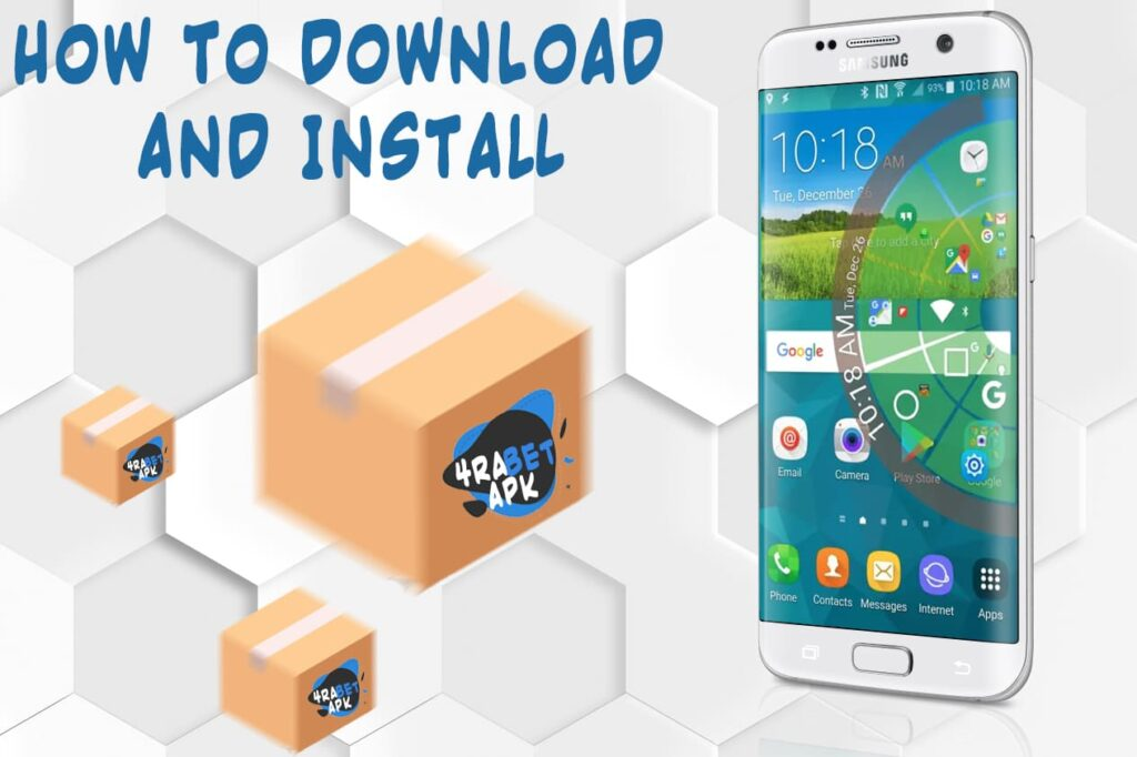 Install and download 4rabet application